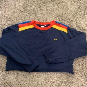 Vans Crop Sweatshirt Classic  sz XL 🛹